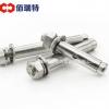 现货供应 304不锈钢膨胀螺栓 外六角膨胀螺丝M6-M20