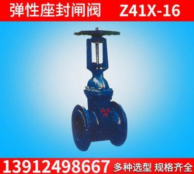 现货 Z41X-16弹性座封闸阀 耐腐蚀铸铁闸阀 科必特国标闸阀