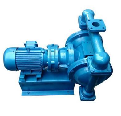 电动隔膜泵 DBY-10 卧式双隔膜泵 DBY-15 铸铁电动隔膜泵