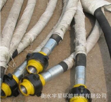 厂家生产耐酸碱耐腐蚀耐磨超高压石油钻探绝缘胶管 高压水龙带