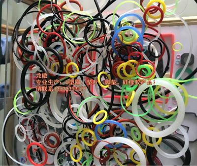 东莞厂家直销耐磨耐油耐高温耐酸碱高密封 硅胶橡胶O型 商家主营