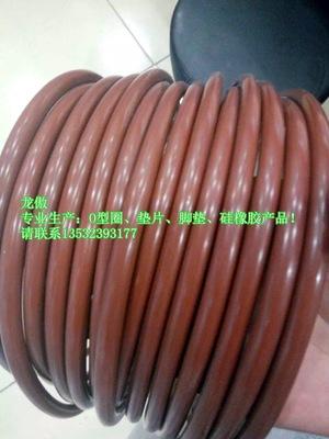 供应防臭耐高温o型硅胶密封圈 厂家定做耐拉耐磨食品级硅胶密封