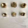 计量件铜螺母 单向阀螺帽 PN-4油管螺母接头