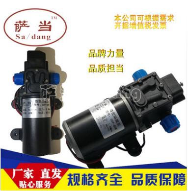 电动隔膜泵 小水泵净水器自吸泵 洗车隔膜泵 房车泵萨当品牌220V