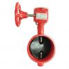 厂家生产蜗轮沟槽信号蝶阀XD381X-16Q蝶阀质量保证发货快