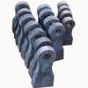 供应耐磨高硬度工程机械耐磨配件锤头篦板