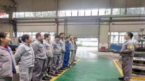 重庆水泵车间小组班前会 生产管理大作用