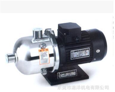 新界不锈钢立式多级离心泵 BW16系列水处理工业应用管道增压