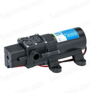 厂家直销直流12V微型水泵 隔膜泵自吸泵农用喷雾泵高压泵70PSI