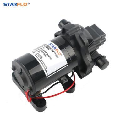 直流高压微型房车水泵12V/24V微型直流隔膜泵房车游艇RV电动液泵