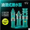 上海人民潜水泵油浸式大流量潜水泵农用水泵高压水泵井用高压泵