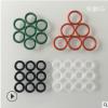 现货环保白色透明硅胶圈 电子烟密封圈 耐高温硅胶o型圈 防水圈