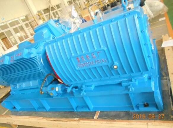 重庆水泵公司完成中国台湾地区首单订货交付