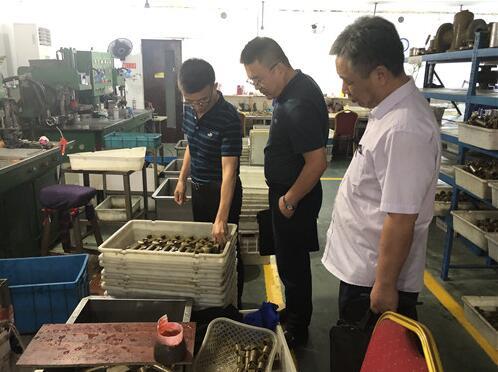 温州泵阀工程研究院赴索尔特铸业、格兰夫泵业开展调研服务