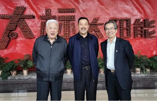 中国铸造协会常务副会长温平一行前往太标精工铸造进行调研