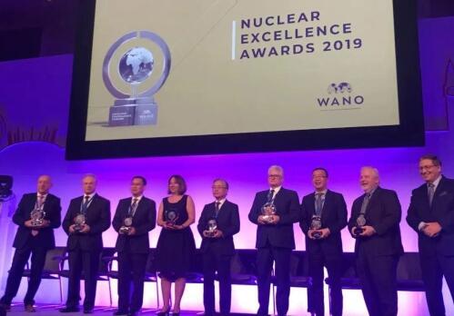 中国核电再添WANO核能卓越奖