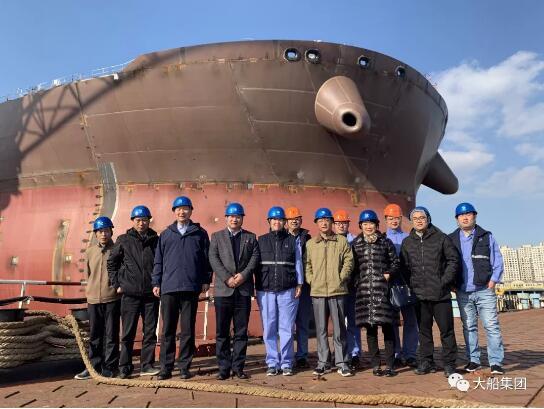 郑州市科协副主席李文龙一行到大船集团调研