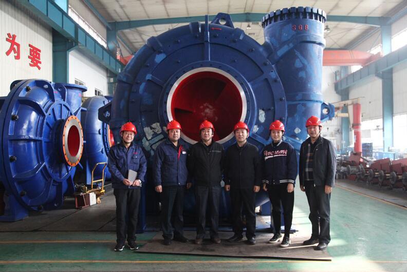 冀中能源集团生产运行部领导到石工泵公司进行工作调研