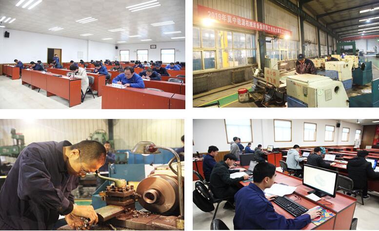 冀中装备集团2019年职工技能大赛在石工泵公司举行
