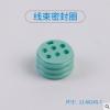 线束密封圈 厂家现货供应o型硅胶圈 硅胶防水圈 耐高温硅胶密封圈