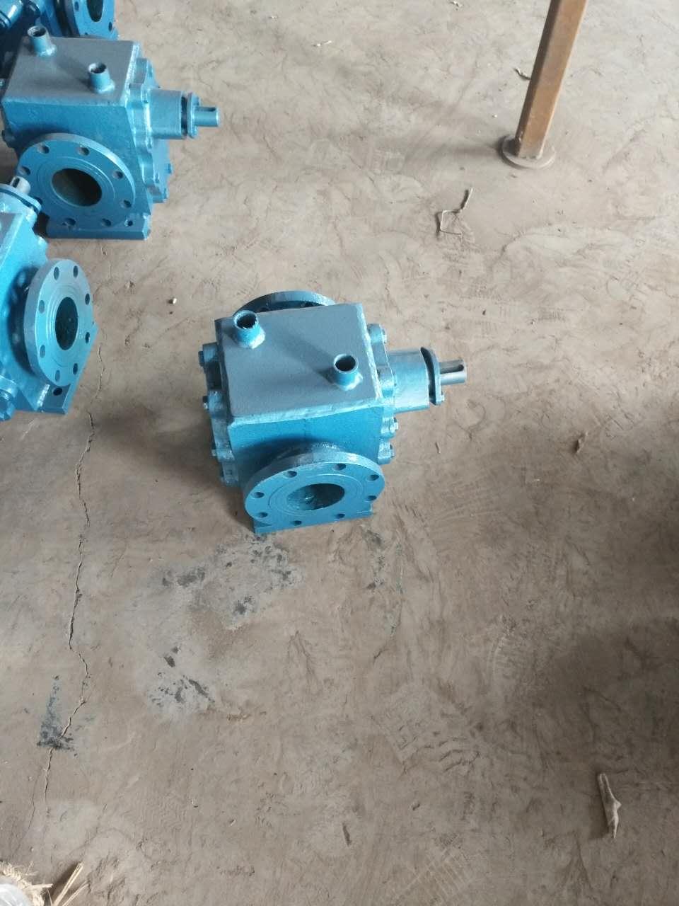 德阳输送沥青齿轮泵-宏润泵业LQB-7/0.6型保温沥青泵