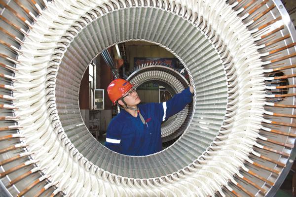 全国首台矿山破碎机用变频调速永磁电机研制成功