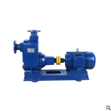 ZW125-120-20污水自吸泵不锈钢排污防腐自吸离心泵