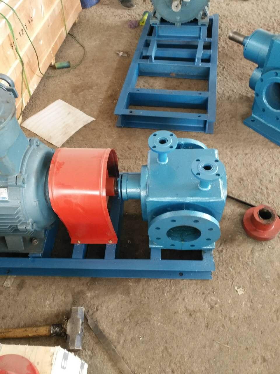 沧州宏润泵有限公司-从化市LQB-38/0.6型保温沥青泵