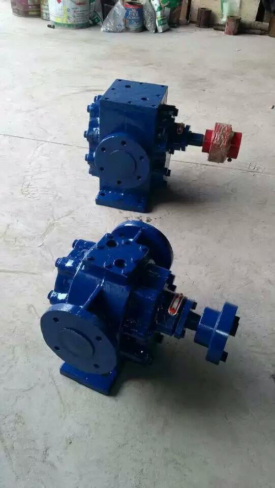 兴宁发货2台RCB-29/0.6型保温沥青泵-铸钢高温齿轮泵