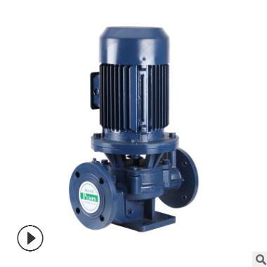 专业生产ISG125-250B立式管道泵不锈钢管道泵单级式热水循环泵
