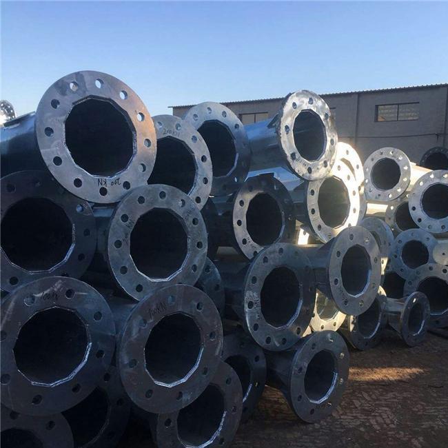 河北电力钢管杆厂家 35kv钢管杆