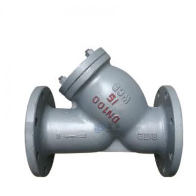 GL41H-16C碳钢Y型过滤器管道过滤器阀门304可拆卸滤网高效过滤