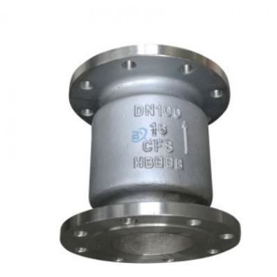 H42W/H-16P不锈钢法兰立式止回阀 升降式单向阀逆止阀门防止逆流