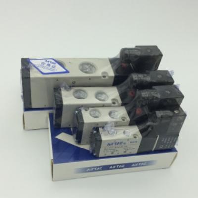 现货原装亚德客电磁阀4v310-10线圈220V 110V 24V气动控制元件