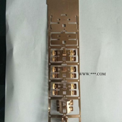 【文祥】LH-112五金冲压件  开关插座铜件  五金连续冲压模具