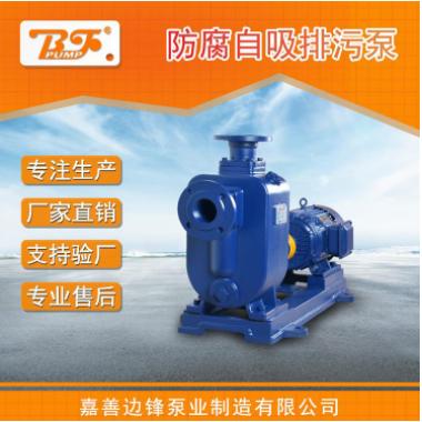ZW100-80-60污水自吸泵排污防腐自吸离心泵卸料泵厂家直销