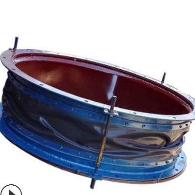 非金属膨胀节 电厂热风硅胶布蒙皮圈带 锅炉烟道氟橡胶蒙皮补偿器