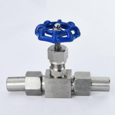 厂家供应J13W内螺纹针型阀 内牙流量截止阀 针形仪表阀
