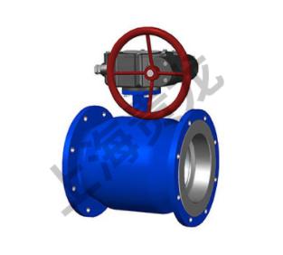 涡轮传动全焊接球阀
