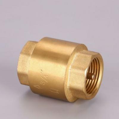 黄铜阀门升降式立式止回阀自来水表止逆阀水司专用厂家直销可定制