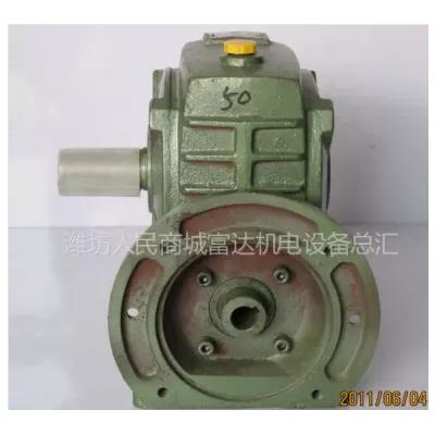 供应优质铸铁铜轮涡轮蜗杆齿轮箱