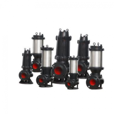 65JYWQ25-7-1.5自动搅匀无堵潜水式污水泵搅拌淤泥清理排污水泵