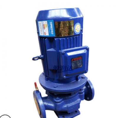 厂家供应源润达ISG立式管道离心泵 铸铁耐磨合金机泄密封园林喷灌
