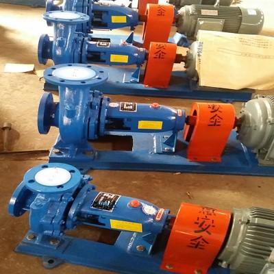 源润达IS250管道离心泵防爆型固体输送泵养殖场管道泵