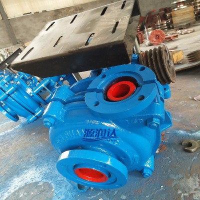 源润达3/2AH渣浆泵工业搅匀渣浆泵耐酸碱泵