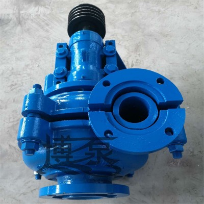 博泵1.5/1B-AHR渣浆泵立式无堵工业泵渣浆泵型号齐全