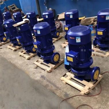 ISG40-160型消防增压泵厂家博泵供单级单吸清水泵