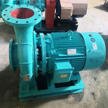 ISW40-160A型卧式管道泵厂家博泵诚售单级单吸清水泵