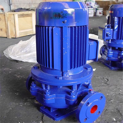 ISG50-125IA型离心管道泵厂家单级单吸立式消防增压泵