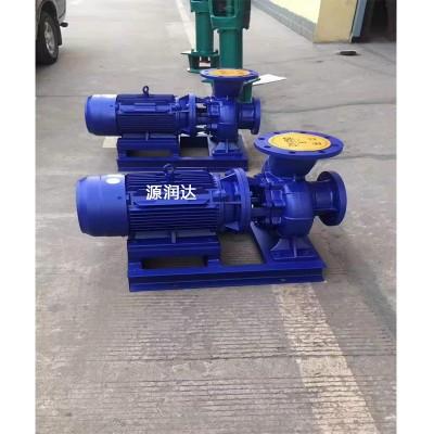 源润达65-315IB管道离心泵轴承损坏稳固管道降低真空